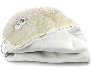DeLonghi-cOP 430 couverture électrique chauffante-couverture en laine douce