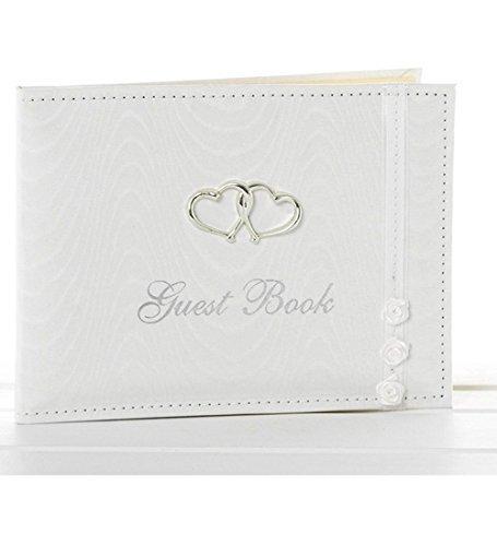 Unbekannt Weißes Hochzeits-Gästebuch, Hochzeits-Dekorationen, Geschenkidee