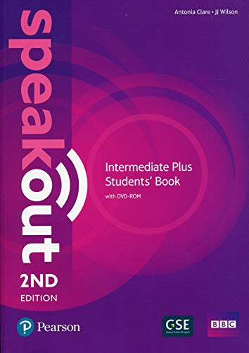 Speakout Intermediate Plus 2nd Edition Students' Book and DVD-ROM Pack por J J Wilson