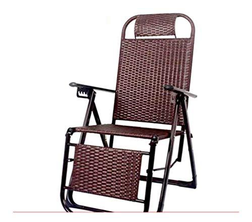 Arqg sedia a sdraio- lounge chair - take a cool sun lettino balcone sun-baked lunch break chair senior nap estivo prendi una sedia fresca per adulti, lettino giardino pieghevole