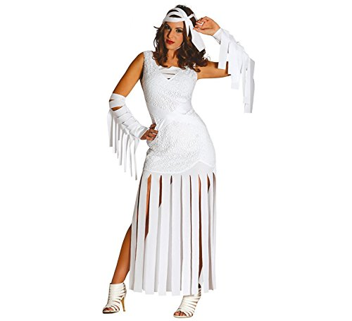 Sexy Mumie Kostüm für Damen Gr. 40 - 46, (Mumie Kostüm Damen)