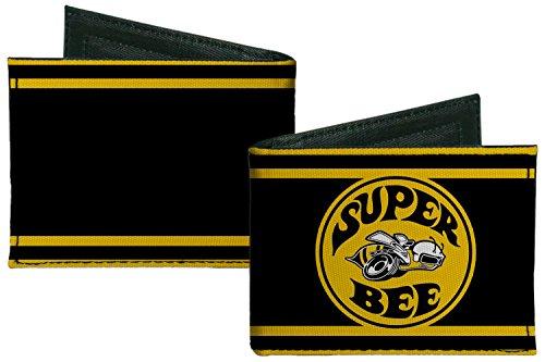 dodge-automobile-company-super-bee-logo-bi-fold-wallet