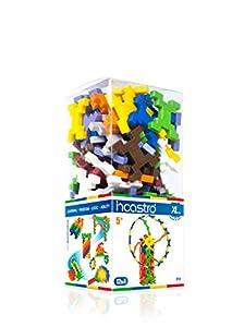 incastro Rígida 015-Juegos de construcción rígida Cube XL, 100Unidades, Multicolor