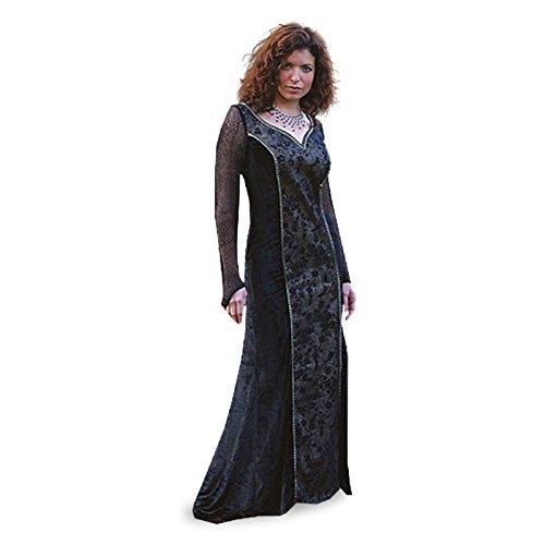 Elbenwald Prinzessin der Dunkelheit - Kostüm - (Dunkelheit Prinzessin Kostüm)