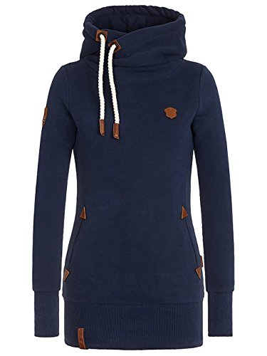 Naketano Female Hoody Darth Long IX Dark Blue