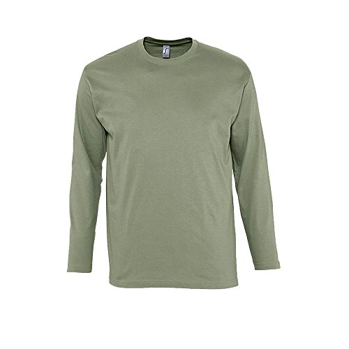 Langarm T-Shirt Monarch Khaki