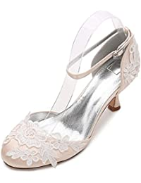 204b619f73 Qingchunhuangtang@ Große Größe Hochzeit Schuhe Party Schuhe High Heels  Hohlen Schuhe Party Mode Schuhe tägliche