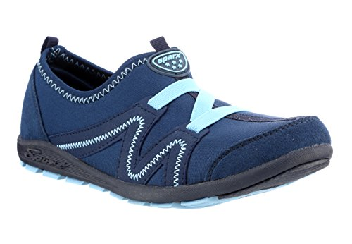 Sparx Women's Navy Blue and Sky Blue Running Shoes - 6 UK/India (39 EU)(SX-84)