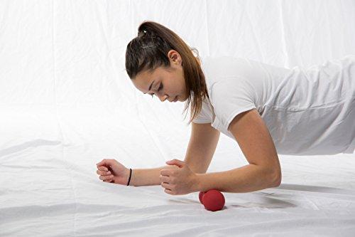 POWRX Peanut Mini Massageball – Für Faszientherapie und Triggerpunkttherapie - 4