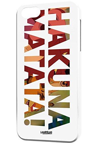 Cover Apple iPhone 5 6 Bumper Case Handyhülle Soft Case Hakuna Matata Bunt iPhone 6 mehrfarbig