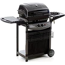 sochef Piùsaporillo Barbecue, Nero, 52x122x103 cm