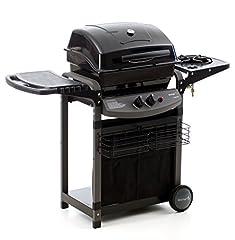 Idea Regalo - sochef Piùsaporillo Barbecue, Nero, 52x122x103 cm