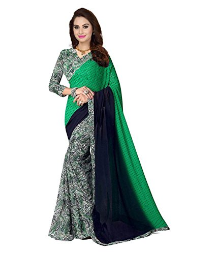 Sarees (Women\'s Clothing Saree For Women Latest Design Wear Sarees New Collection in Multi-Coloured Cottan Silk Material Latest Saree With Designer Blouse Free Size Beautiful Bollywood Saree For Wome