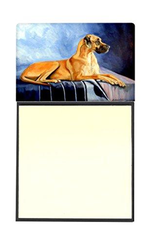 Caroline Natürlichen (Caroline 's Treasures natürlichen Fawn Deutsche Dogge nachfüllbar Sticky Note Halter oder Postit Note Spender, 3,25von 14cm Multicolor)