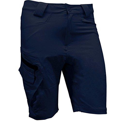 Hi-Tec Energetic Tech Stretch Golf Shorts Mens Trekking Sports Training Shorts Blue Mountain XXL (Short Mountain Tech)