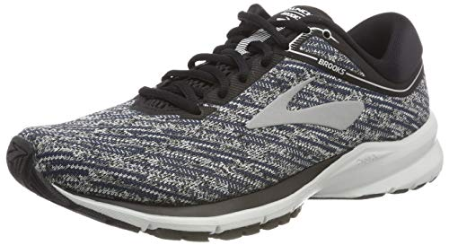 Brooks Launch 5, Scarpe da Running Uomo, Multicolore (Black/Ebony/Primer Grey 039), 41 EU