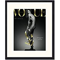 "Jacob Baden ""Vogue Cover Gisele Bundchen"" Framed Print, Multi-Colour, 53 x 63 x 2.5 cm preiswert"