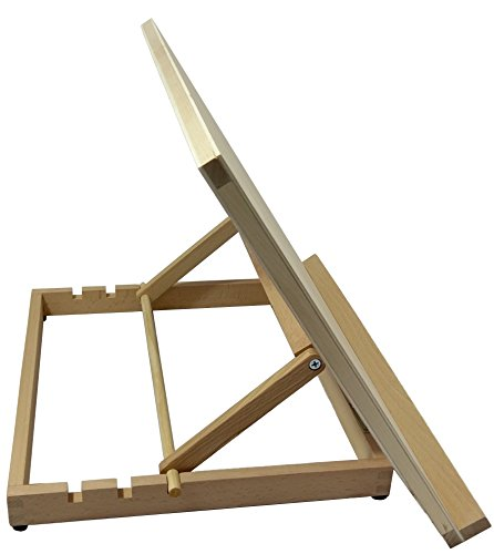 A3 Art & Craft Workstation Wooden Desktop Drawing Board Artist Adjustable Table Easel