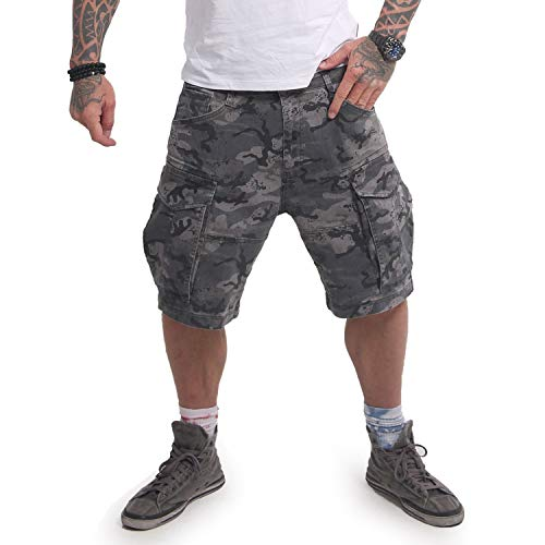 Yakuza Herren Memento Mori Cargo Shorts