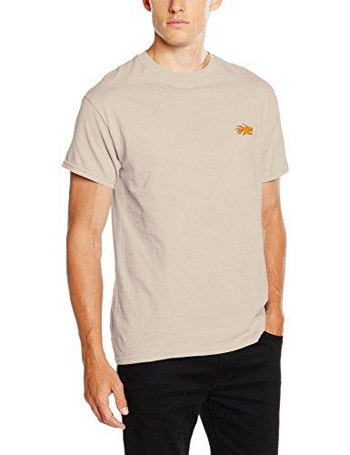 Hot Tuna Herren Core T-Shirt Yellow (Sand)