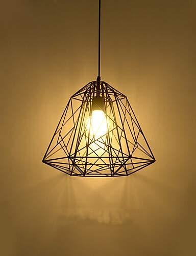 Retro Vertrag Metall Hive Pendelleuchten, kreativen schwarzen Lackierung Wohnzimmer Esszimmer Garage Senden 1 Lampe 115V #3672 -