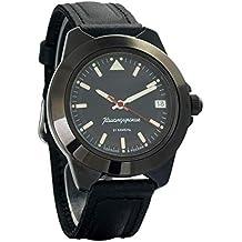 Vostok Komandirskie 646577 - Reloj de Pulsera para Hombre, diseño Ruso automático, ...