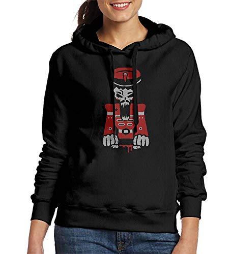Sweatshirt Hoodie Nutcracker Skull