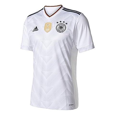 adidas Maillot Domicile homme Fédération allemande de Football (DFB) M blanc/noir