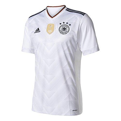 adidas Herren Dfb Heim Trikot, White/Black, M
