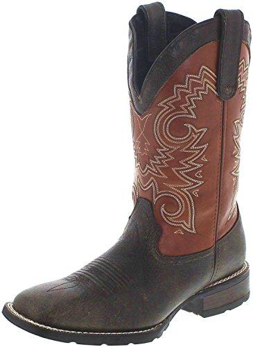 Durango Boots Mustang DDB0084 Brown Rust/Herren Westernreitstiefel Braun/Westernstiefel/Herrenstiefel, Groesse:41 (8 US) -