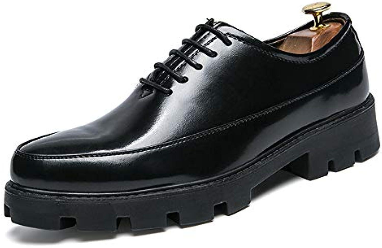 Yajie-scarpe Yajie-scarpe Yajie-scarpe store, Business Oxford da uomo Casual Altezza aumentata Sottopiede Spessa scarpe in pelle verniciata... | Nuove varietà sono introdotte  | Scolaro/Ragazze Scarpa  ab5892