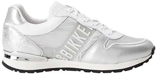 Bikkembergs Kate 853, Sneakers basses femme Argento (Silver/grey)