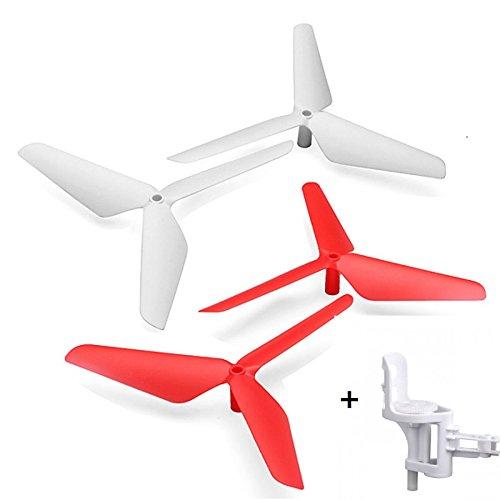 Malloom 2015 high quality 4 PC 3-license propeller blade for Syma X5C JJRC H5C