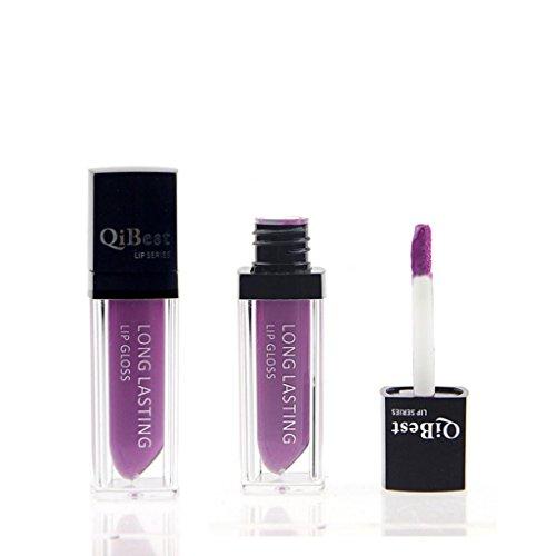 Wasserdichter Matte Liquid Lipstick Lange Dauerhaft Lipgloss F# - Bluestercool