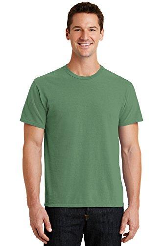 Port & Company RMK Pigment-Dyed Tee Amethyst Training Shirts (72Stück), Unisex-Erwachsene, Safari, Small - Safari-grün-erwachsenen-shirt