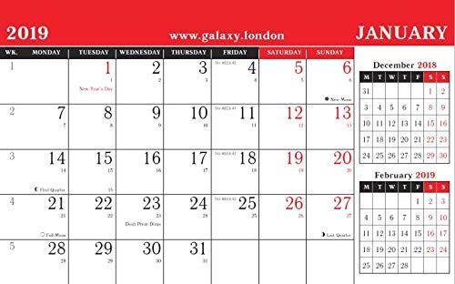 Visualizza Calendario.Calendario 2018 Con Visualizzazione Di Tre Mesi A Pagina In