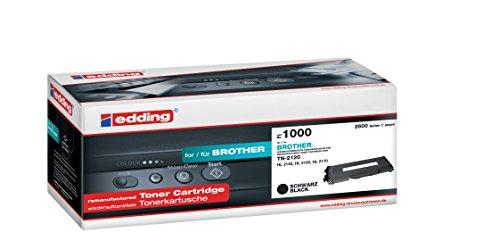 Preisvergleich Produktbild edding Toner EDD-1000 ersetzt Brother TN-2120 - Schwarz - 2.600 Seiten