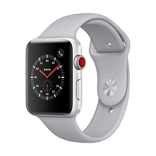 Apple Watch Series 3 Lte Mqkm2zda - Aluminium, Sportbandje, 42mm, 16g