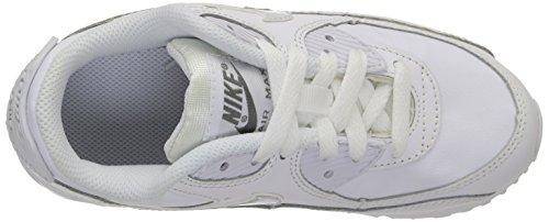 Nike Air Max 90 Enfant Triple White Blanc weiss