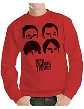Felpa Girocollo THE BIG BANG THEORY - FILM by Mush Dress Your Style