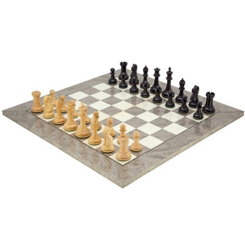 The Regency Chess Company L'oxford Ash Ronce Set D'échecs