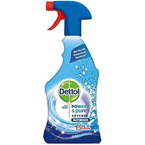 Dettol Potenza E pure bagno Spray 750ml, confezione da 3