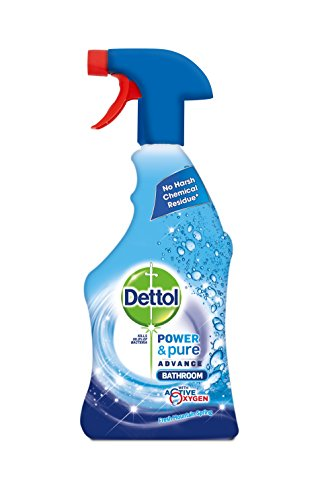 Dettol Power and Pure Bathroom Spray 750 ml - Pack of 3