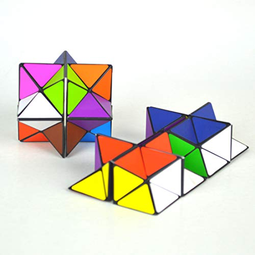 Jeerui Kinder Magic Star Infinite 3D Würfel Spiel Puzzle Twist Spielzeug Party Reise Kind Kreative Dekompression Magic Box Puzzle Geschenk Infinity Twist