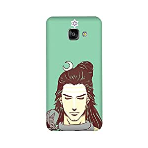 Yashas High Quality Designer Printed Case & Cover for Samsung Galaxy A7 (2017 Model) (Lord Shiva)