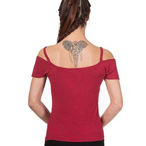 Banned - Débardeur - Femme Rouge Rouge Rouge - Rouge