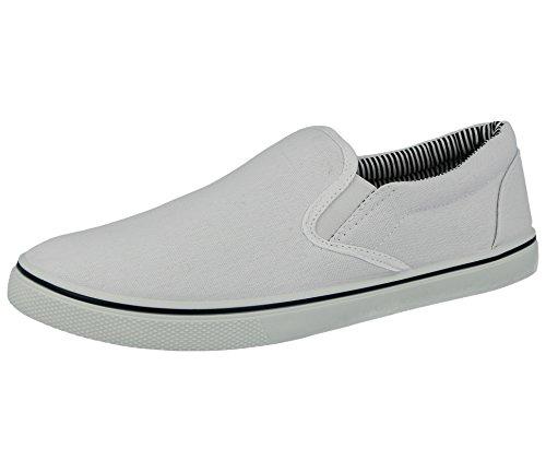 Foster Footwear , Herren Sneaker, weiß - weiß - Größe:  EU44, UK 10