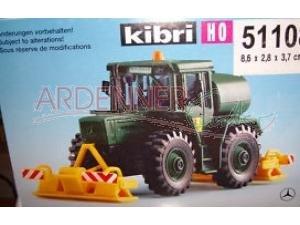 Preisvergleich Produktbild kibri 51108 - LKW MB Trac mit Plattenverdichter