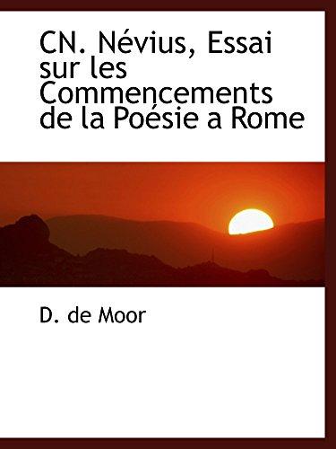 CN. Névius, Essai sur les Commencements de la Poésie a Rome