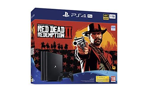 PlayStation 4 Pro (PS4) - Consola de 1 TB + Red Dead Redemption II (precio: 439,90€)